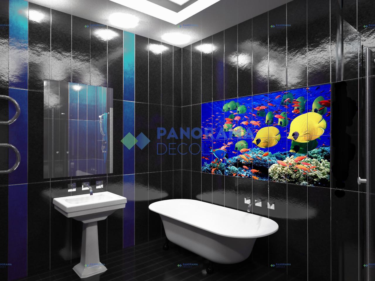 декоративные панно ванную